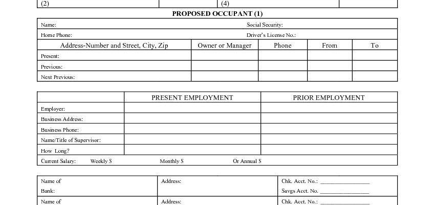 California Rental Application - Department of Transportation